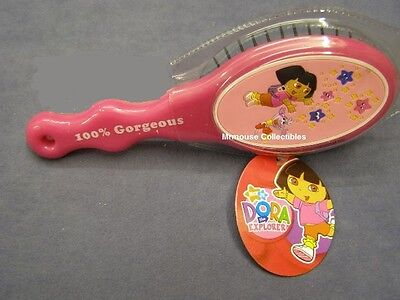 Dora The Explorer Nick Jr. Collectors Girls Hairbrush - 100% Gorgeous
