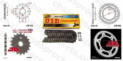 DID- X Ring JT Sprocket Chain Kit fits Yamaha FZS600 Fazer 98-03