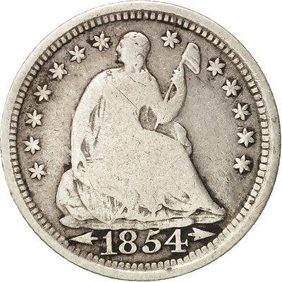 [#48634] United States, Seated Liberty Half Dime, 1854-P, KM:76
