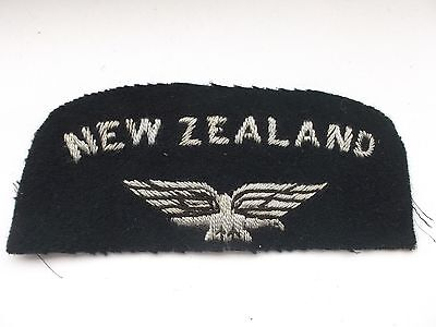 2ww  new zealand cloth combination   royal air force shoulder title