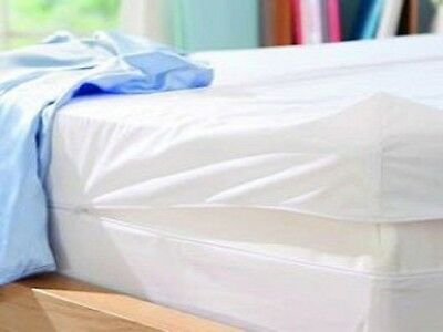 Fully Enclosed Waterproof Anti-Bed Bug Mattress Protector - Single Bed Size