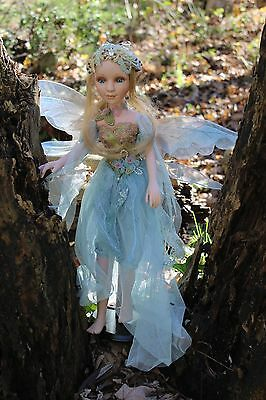 Porcelain Fairy Elf Pixie Fantasy Dark Crystal Lord of the Rings Winged Doll