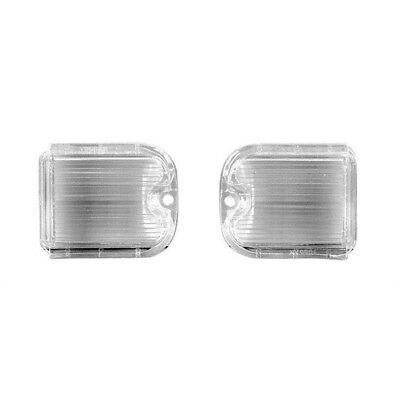66 Chevelle Back Up Lamp / Light Lens - Pair