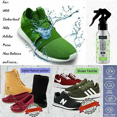 Hendlex SHOES PROTECT suede leather 100ml Nanotechnology water and fat repellent