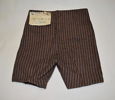 NOS NWT New Antique Vintage Edwardian 1910's Marx Made Baby Boy's First Pants