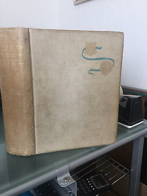 The Jubilee Book Of Cricket Limited  Edition Signed By L. Palairet. Plus Others