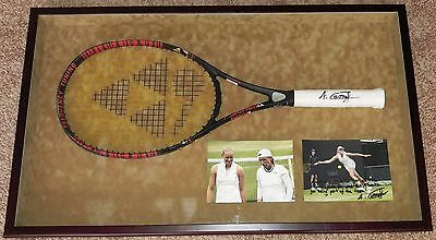 Anna-Lena Gronefeld Tennis Star Personally Used Signed Autographed Racket Framed