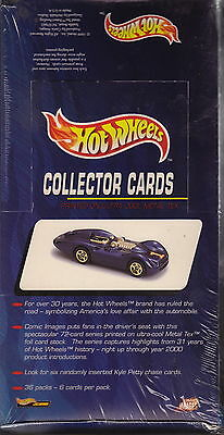 HOT WHEELS - Collector Cards Factory Sealed Box (Comic Images) #NEW