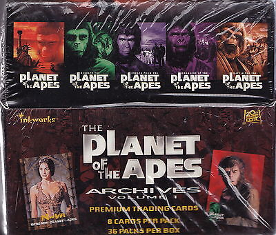 PLANET OF THE APES - Archives Trading Cards Factory Sealed Box [Inkworks] #NEW