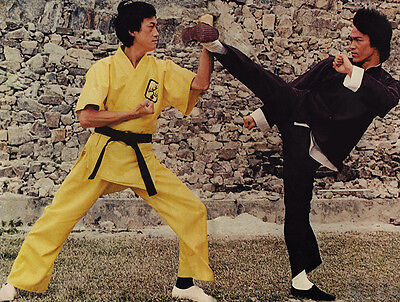 Bruce Lee - Operation Dragon (1973)  - 8 1/2 X 11