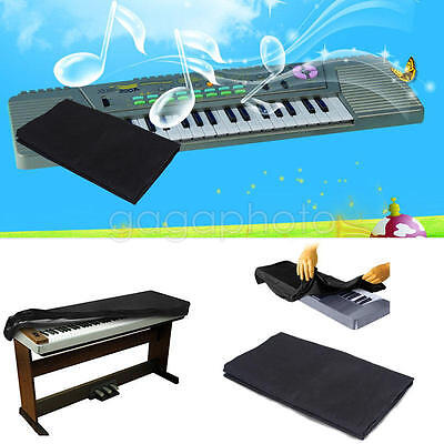 1pc Piano On Stage Keyboard Dust Cover for 61 Key Storage waterproof Black New