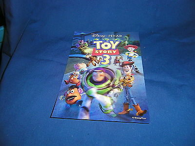Disney 3-D Lenticular Movie Club Collectors Card Toy Story 3 Buzz & Woody