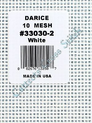 Darice Plastic Canvas 10 Count --> White <--