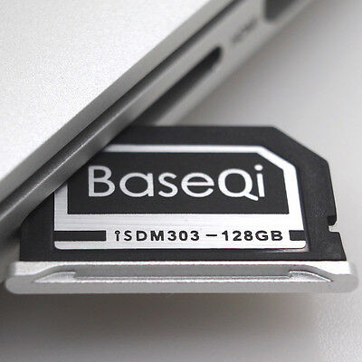 "BASEQI Aluminum 128GB Storage Expansion Card for MacBook Pro Retina 13"" (303MSV)"