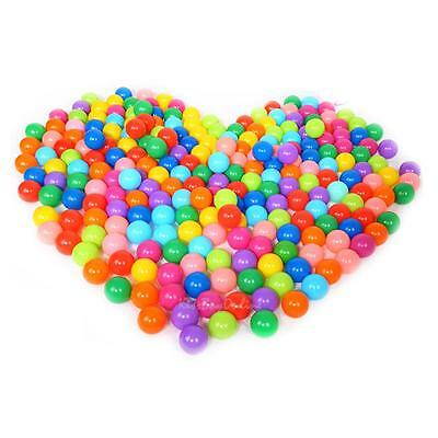 100 PCS Soft Plastic Colorful Ball Game Accessories For Kids Baby Toy Swim Pool