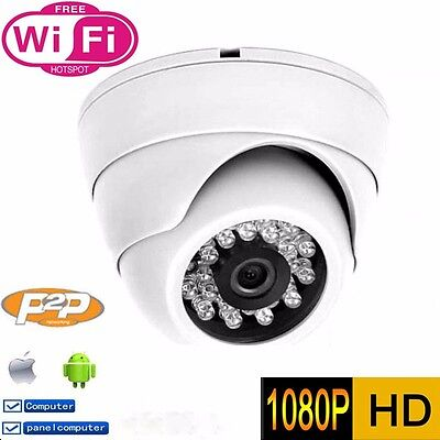 CCTV WiFi Wireless HD 720P IP Camera Home Security Network Webcam Night Vision