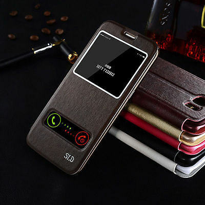 New Slim Flip Leather Wallet Stand Case Cover Pouch For Samsung Galaxy S7/S7Edge