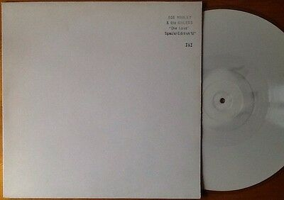 "BOB MARLEY & THE WAILERS One Love 12"" SPECIAL EDITION WHITE VINYL NUMBERED PROMO"
