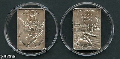 Hungary - 2000 Forint 2016 Coin UNC, Budapest Zoo