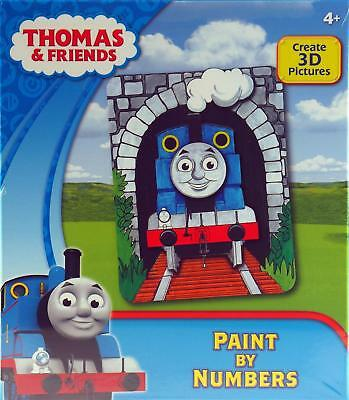 Thomas Paint By Numbers Painting Kit - Create A 3D Picture
