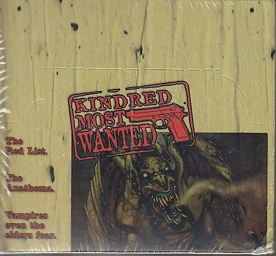 Kindred Most Wanted Booster Box VTES CCG Sealed KMW