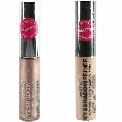 Technic Matte & Shimmer Eyeshadow Primer Long Lasting Eye Make Up Base