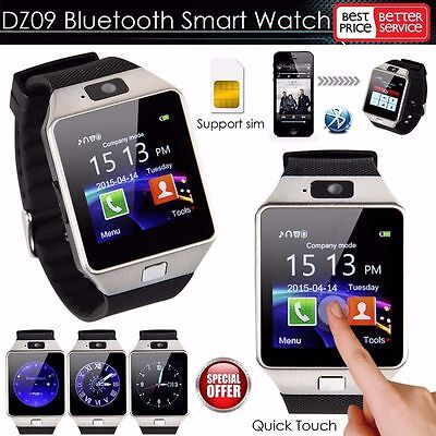DZ09 Bluetooth Wrist Smart Watch GSM For Android Samsung/iPhone/HTC Phone Mate!