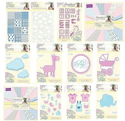 Crafters Companion Sara Signature Collection LITTLE ANGEL CardMaking Range