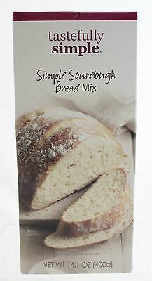 NEW Tastefully Simple Simple Sourdough Bread Mix - 14 oz.
