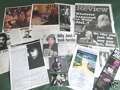 "Billy Joel - Pop Music- ""clippings /cuttings Pack"""