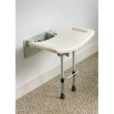 Wall Mounted Shower Stool With Legs