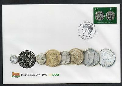 Eire 1997 Millennium of Irish Coinage Coin Cover