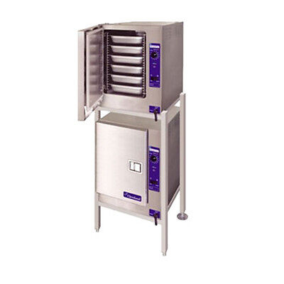 Cleveland 22CET66.1 SteamChef™ 6 High Efficiency Convection Steamer Double Stack