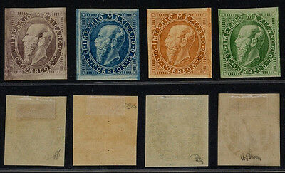 Mexico 1866 - Yv # 24/27 - MH Stamps
