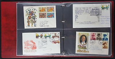 Collection of 85 1950's - 90s Covers in Kestrel Album, Inc Coronation, All Shown