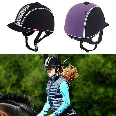 Adults Pony Horse Riding Competition Safety Eventing Helmet All Colors & Sizes