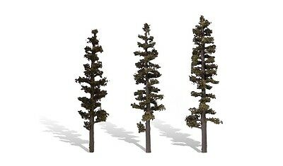 """Woodland Scenics [WOO] Trees Standing Timber 6-7"""" (3) WOOTR3562"""