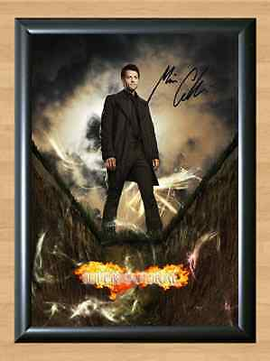 Misha Collins Supernatural Memorabilia Signed Autographed A4 Print Photo Poster