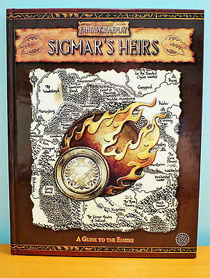 Sigmar's Heirs Warhammer Fantasy Roleplay 2nd Edition - Near Mint