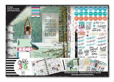 NEW The Happy Planner - Limited Edition Fitness Workout BOX Kit Undated