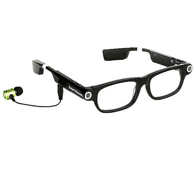 New Bluetooth Smart Glasses Light Video Music Camera Call Phone with Earphone