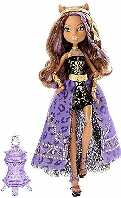 Clawdeen Wolf 13 Wishes Monster High Doll