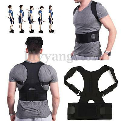 Neoprene Posture Back Shoulder Corrector Support Brace Belt Therapy Adjustable