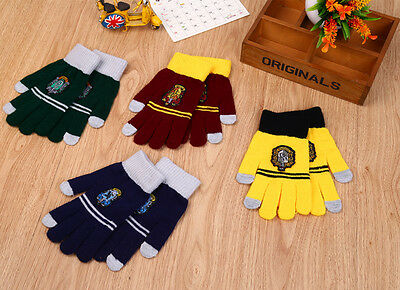Harry Potter Winter Touch Screen Gloves Texting Capacitive Smartphone Knit Charm