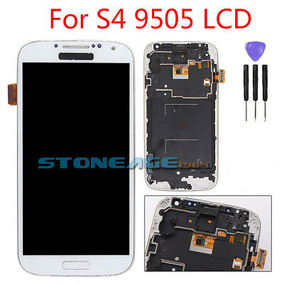 For Samsung Galaxy S4 i9505 LCD Display Touch Screen Digitizer Assembly White