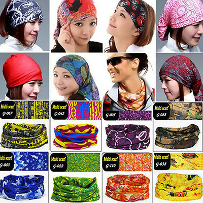 Outdoor Field Fashion Multi-functional Magic Headband Scarf Neck Veil Kerchief