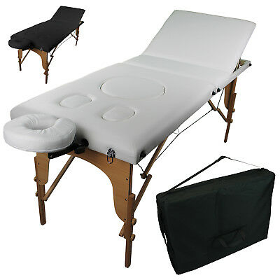 LINXOR FRANCE ® TABLE DE MASSAGE PLIANTE POUR FEMME ENCEINTE 3 ZONES / Pliable