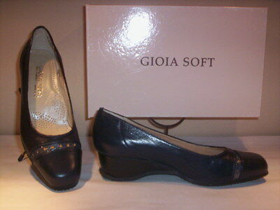 Shoes comfortable court Gioia Soft woman classic elegant wedge 35 36