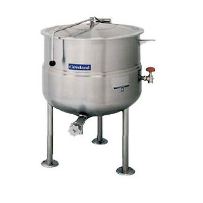 Cleveland KDL100 100 Gallon Capacity Stationary Direct Steam Kettle