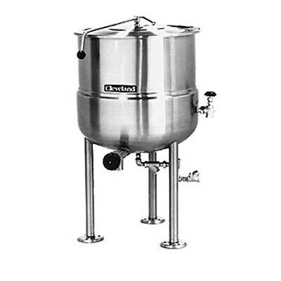 Cleveland KDL150 150 Gallon Capacity Stationary Direct Steam Kettle